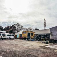 千葉県柏市にあるイーブルバレーの工場兼ショールーム